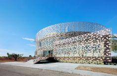Corporate Office Building for Hispasat Technology Center   Herreros Arquitectos   Arganda del Rey, Spain