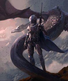 Title: The Knight  Artist: Steve Wang