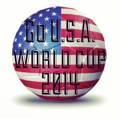 Go Team USA!! World Cup 2014 Mens World Cup, Usa World Cup, World Cup 2014, Us Soccer, Soccer Drills, Soccer Stuff, Usa National Team, Fifa Teams, World Cup Match
