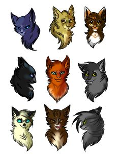Warrior Cats sketch dump by edgyskeleton on DeviantArt