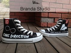 One Direction Shoes,Studio High Top Hand Painted Shoes 49.99Usd,Paint On Custom Converse Shoes Only 90Usd,Buy One Get One Phone Case Free