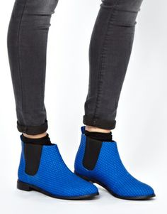 ASOS ARIZONA Woven Chelsea Boots shoes 2014