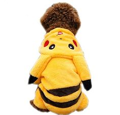 Picachu pet costume for Halloween...