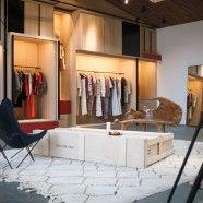 Interior de la nueva tienda de Isabel Marant, en Melrose Place