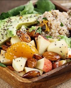 Enjoy all the flavors of #fall with our simply sweet autumn salad. #recipe