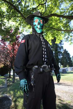 Thanatos, Vancouver's real life super hero.