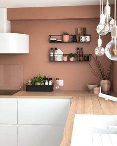 Home Decor Kitchen, Home Decor Bedroom, Kitchen Interior, Home Kitchens, Room Decor, Küchen Design, House Design, Interior Design, Room Colors