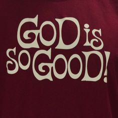 """Cotton/ Poly Pre-Shrunk ~ Sizing is unisex which runs """"normal"""" not small ~ High quality screen print that will last a long time! Love The Lord, God Is Good, Gods Love, Bible Quotes, Bible Verses, Me Quotes, Scriptures, Qoutes, Godly Quotes"""
