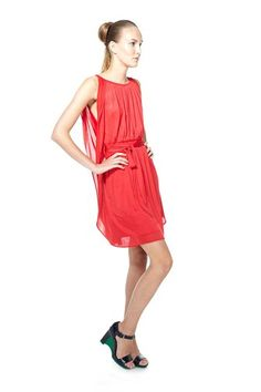 Marc Jacobs gathered jersey dress