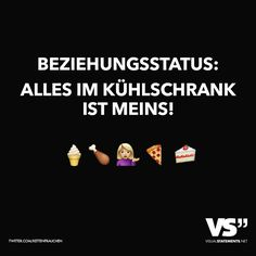 Beziehungsstatus: Alles im Kühlschrank ist meins! Word Pictures, Funny Pictures, Not My Circus, Single Life, Visual Statements, Love Can, Make Me Happy, Haha, Funny Quotes