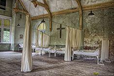 Krankenzimmer in der Männerklinik in Beelitz Heilstätten - Bild & Foto von GR-PHOTOGRAPHIE aus HDRI & TM - Fotografie (29550349) | fotocommunity