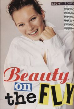 "Mark Bothwick; ""Beauty on the Fly"" Allure December 1993."