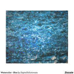 Watercolor - Blue Duvet Cover