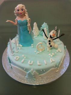 Torta Compleanno Frozen - Le torte di Camilla Jesholt Buffatti
