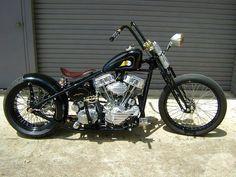 Moto Harley Old School