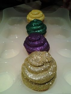 Glitterbomb Cupcakes - over 1,000 repins and counting!