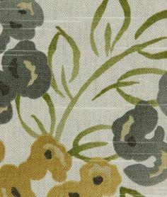 Robert Allen @ Home Luxury Floral Pool Fabric - $17.45 | onlinefabricstore.net