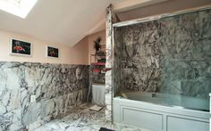Bathroom, Master Bathroom, Master Suite, Marble, Bath, Shower