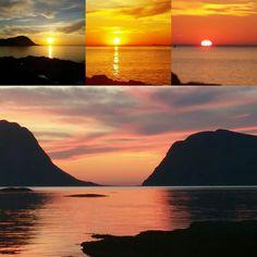 Sunset westcoast Norway