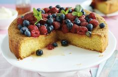 ... Sweet on Pinterest | Dessert Recipes, Quinoa Recipe and Polenta Cakes