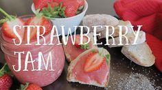 Jam Recipes, Vegan Recipes, Strawberry Jam Recipe, Stay Fresh, Sugar Free, Watch, Easy, Clock, Vegane Rezepte