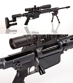 Custom rifle system consisting of Eliseo RTM chassis and Pierce action (tubed)
