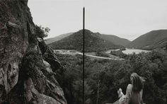 "Barbara Bosworth, Artist's Bluff, White Mountain National Forest, New Hampshire, 1991, Gelatin silver print on paper, 9-5/8 x 15-1/2"", Smithsonian American Art Museum, Gift of Haluk Soykan and Elisa Frederickson, 2008.2.12. White Mountain National Forest, Gelatin Silver Print, New Hampshire, American Art, Art Museum, Landscape, Forests, Artist, Photography"