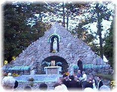 Lourdes grotto, Uniontown,  Pennsylvania