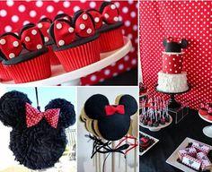 Ideas para un cumpleaños de Minnie Mouse casero