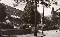 Het Liduïna-ziekenhuis.. ik werd daar geboren; bron: Gerda Heezen
