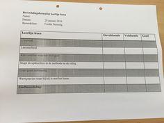 Beoordelingsformulier Cito  leerlijn lezen.