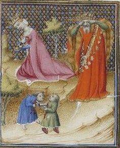 Giovanni Boccaccio, De Claris mulieribus; Paris Bibliothèque nationale de France MSS Français 598; French; 1403, 36r. http://www.europeanaregia.eu/en/manuscripts/paris-bibliotheque-nationale-france-mss-francais-598/en