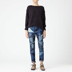 Etoile Isabel Marant Dillon Patched Jeans | Steven Alan