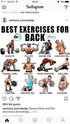 Gym Workout For Beginners, Gym Workout Tips, Biceps Workout, Boxing Workout, Big Back Workout, Good Back Workouts, Muscle Fitness, Fitness Tips, Basic Calisthenics
