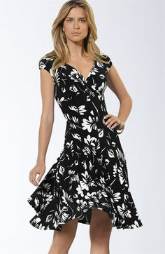 Surprise!  Another black and white dress I love.  Nordstrom has it on sale!