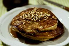 From the LA Times: Highland Bakery's Sweet Potato Pancakes