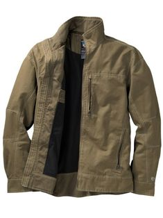 Shop the Men's Kuhl Burr Jacket. Lighter, warmer & hipper than a leather jacket in rugged cotton canvas lined in warm fleece. 4 zip pockets hold all your essentials.