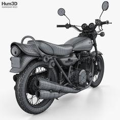 model of Kawasaki 900 Super Four 1973 Triumph Motorcycles, Kawasaki Motorcycles, Kawasaki 900, Super Four, Ducati, Motocross, Mopar, Stl File Format, Lamborghini