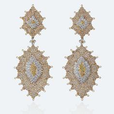 Buccellati - Earrings - Pendants d'oreilles Arianna - High Jewelry