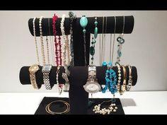 DIY : fabriquez un porte-bijoux avec des rouleaux en carton - Des idées
