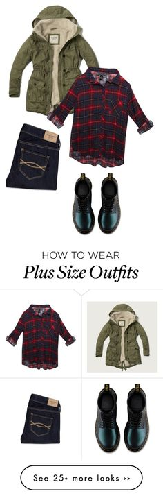 """A & F"" by carlafashion-246 on Polyvore featuring Abercrombie & Fitch and Wet Seal"