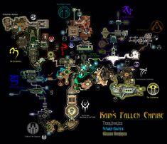 Nosgothic Realmm - Soul Reaver - Map