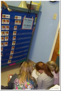a great way to use the pocket   chart in the classroom (and a good blog too)