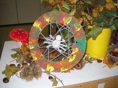 knutselen herfst spin - Google zoeken