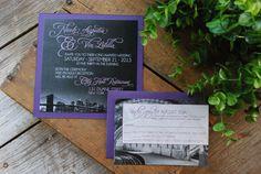 Wedding Invitation  New York Skyline Photo by birdhousestationery, $3.45