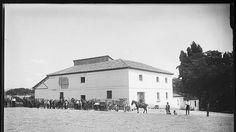 Una de las casas de trabajo que había en la Casa de Campo, que además de finca de recreo, era zona de explotación agrícola y ganadera