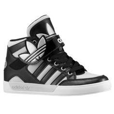 innovative design 26529 885e2 adidas Originals Hard Court Hi Strap - Boys  Grade School - Basketball -  Shoes - Black Black Clear Grey
