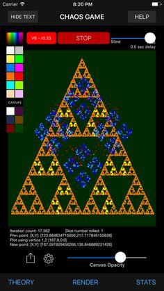 Chaos Game, Mathematics Games, Chaos Theory, Game App, Math Games