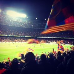 The Camp Nou, home of Barcelona's greatest ever players #campnou #stadium