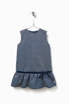 Drop-Waist Polka Dot Dress - AD Kids | Adolfo Dominguez shop online